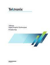 Tektronix DPO7354C Manuals