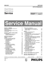 Philips DVP 721VR Service Manual