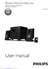 Philips SPA2335 User Manual