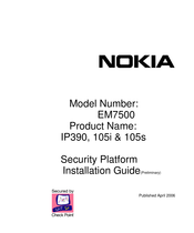 Nokia EM7500 Installation Manual