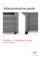 Canon Oce PlotWave 340 Administration Manual