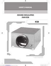Vents KSB 100 User Manual