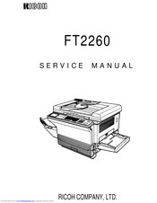 Ricoh Ft2260 Manuals Manualslib