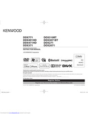 Kenwood DDX271 Instruction Manual