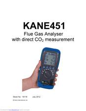 Kane 455 flue gas analyser refer to 458.