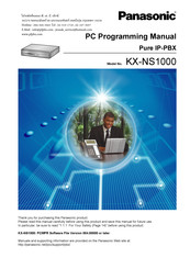 Panasonic KX-NS1000 Programming Manual