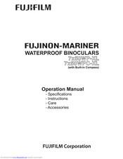 FUJIFILM FUJINON-MARINER 7X50WP-XL OPERATION MANUAL Pdf