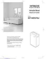 Hitachi EP-NZG70J Instruction Manual