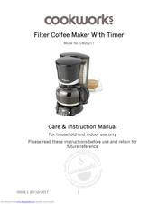 Cookworks Cm2021t Care Instruction Manual Pdf Download