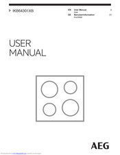 AEG IKB64301XB User Manual