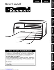 Kenmore 309000845 Owner's Manual