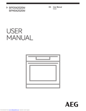 AEG BPE642020M User Manual
