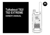 Motorola TALKABOUT T82 EXTREME Quad Owner's Manual