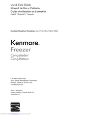 Kenmore 253.17112 Use & Care Manual