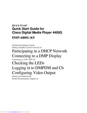 Cisco 4400G Quick Start Manual