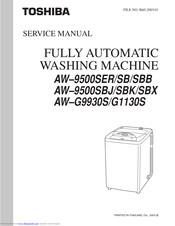 Toshiba Aw G9930s G1130s Service Manual Pdf Download Manualslib
