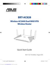 Asus BRT-AC828 Quick Start Manual