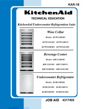 KitchenAid KBCS24RSSS - ARCHITECT Series II or Technical Education