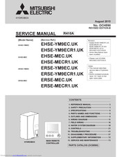 Mitsubishi Electric EHSE-YM9EC Service Manual