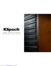 Klipsch KDA-500 Manuals