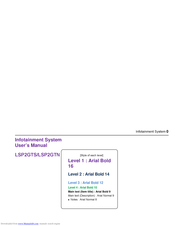 LG LSP2GTS User Manual