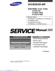 Samsung HT-BP30 Service Manual