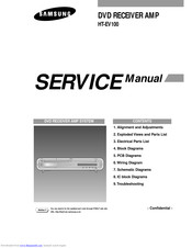 Samsung HT-EV100 Manuals | ManualsLibManualsLib