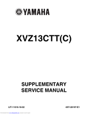Yamaha Royal Star Tour Deluxe XVZ13CTTC Supplementary Service Manual