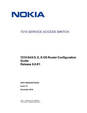 Nokia 7210 SAS D Configuration Manual