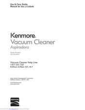 Kenmore 125.22614610 Use & Care Manual