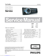 Philips CED230 Service Manual
