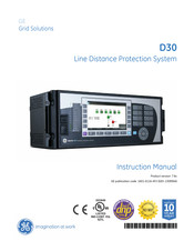 GE D30 series Instruction Manual