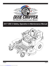 Dixie Chopper Zee 2 2348 Operation Maintenance Manual Pdf Download Manualslib