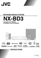 JVC CA-NXBD3 Instruction