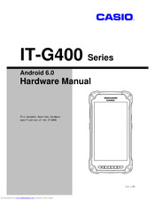 Casio IT-G400-C21M Hardware Manual