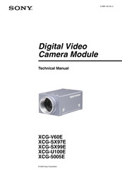 Sony XCG-5005E Technical Manual