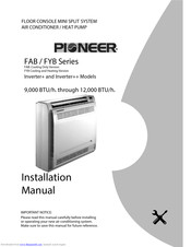Pioneer FAB Series Installation Manual