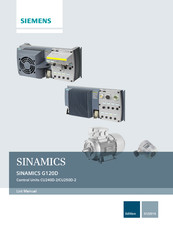 Siemens SINAMICS G120D CU250D-2 DP-F Manual