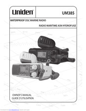 Uniden UM385 Owner's Manual