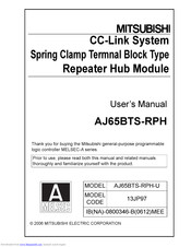 Mitsubishi Electric AJ65BTS-RPH User Manual