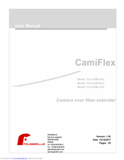 JVC CamiFlex FG-CAM-F4/U User Manual