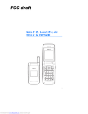 Nokia 3152 User Manual