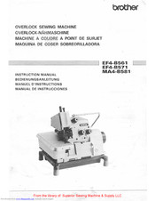 Brother EF4-B561 Instructions Manual