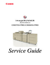 Canon imageRUNNER ADVANCE C9065S PRO Service Manual