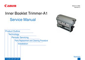 Canon Two-Knife Booklet Trimmer-A1 Service Manual