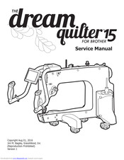 Brother Dream Quilter 15 Service Manual