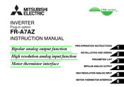 Mitsubishi Electric FR-A7AZ Instruction Manual