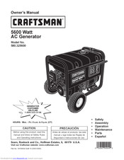 Craftsman 580.326300 Owner's Manual