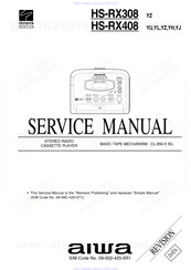 Aiwa HS-RX380 Service Manual