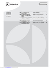 Electrolux EPH09MLIW User Manual